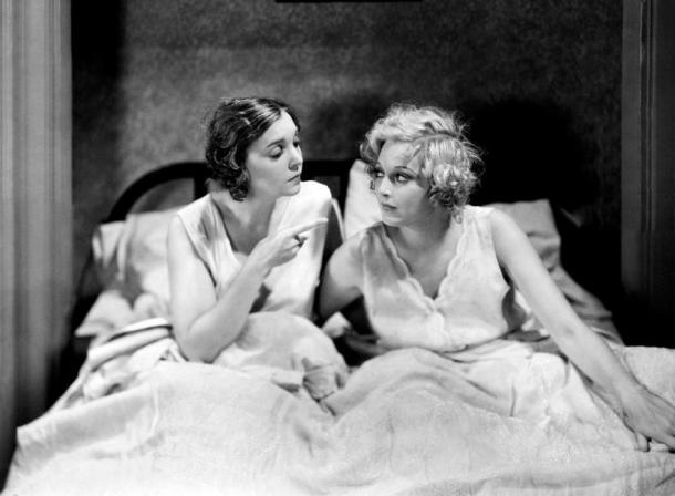 ZaSu Pitts and Thelma Todd in On The Loose (1931)