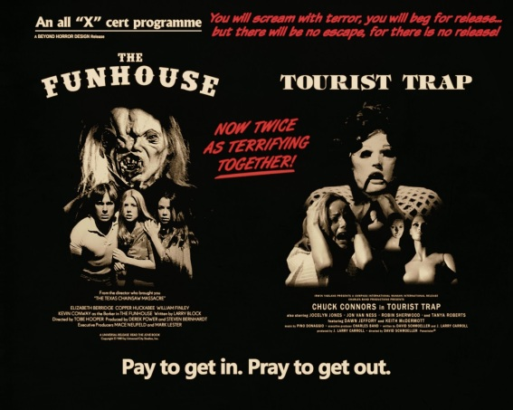 The Fun House 1981 Tourist Trap 1979 Beyond Horror Design
